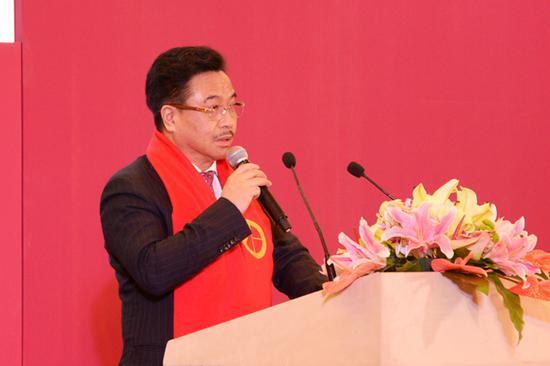 公共外交文化交流中心会长马振轩致欢迎辞